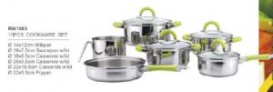 304 201 stainless steel cookware1