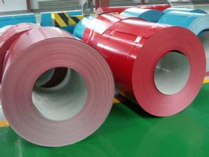 Pre-Painted Galvanized  Steel Sheet or Coil ---Wine Red