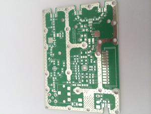 High frequency microwave circuit board