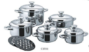 Stainless steel cookware set7