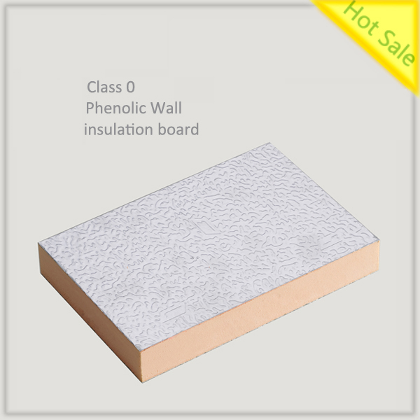 Fire-resistance phenolic wall insulation board