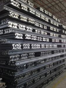 Steel Light Rail Q235B, 55Q, Q345B, 50Mn, U71Mn, 900A, 1100, R260