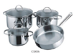 Stainless steel cookware set8