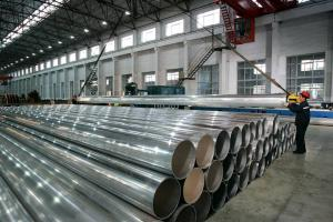 Large Cross Extrusion Section For Tubes