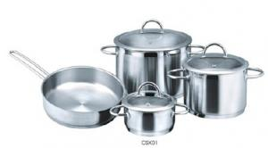 Stainless steel cookware set11