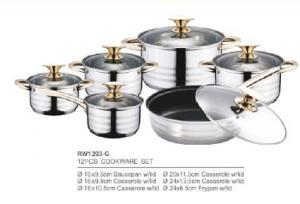 304 201 stainless steel cookware4
