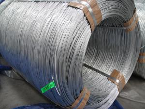 Galvanized Steel Wire For Pvc Coated Wire