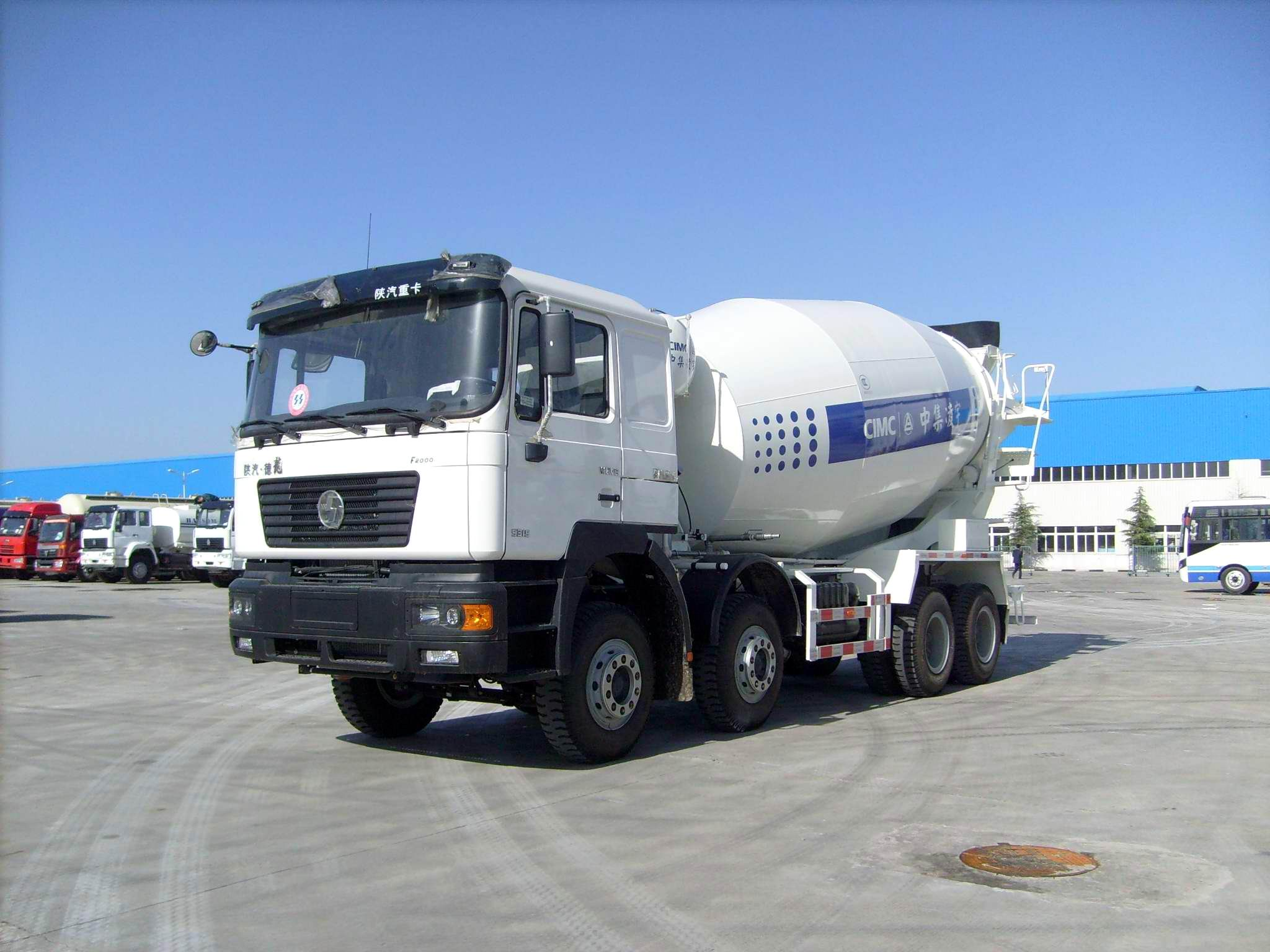 15m3 concrete mixer truck(Shacman chassis)