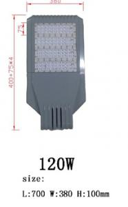 Best good quality bridgelux chip meanwell driver 120W LED street light