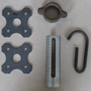 scaffolding Prop parts plate,pin,screw,nut