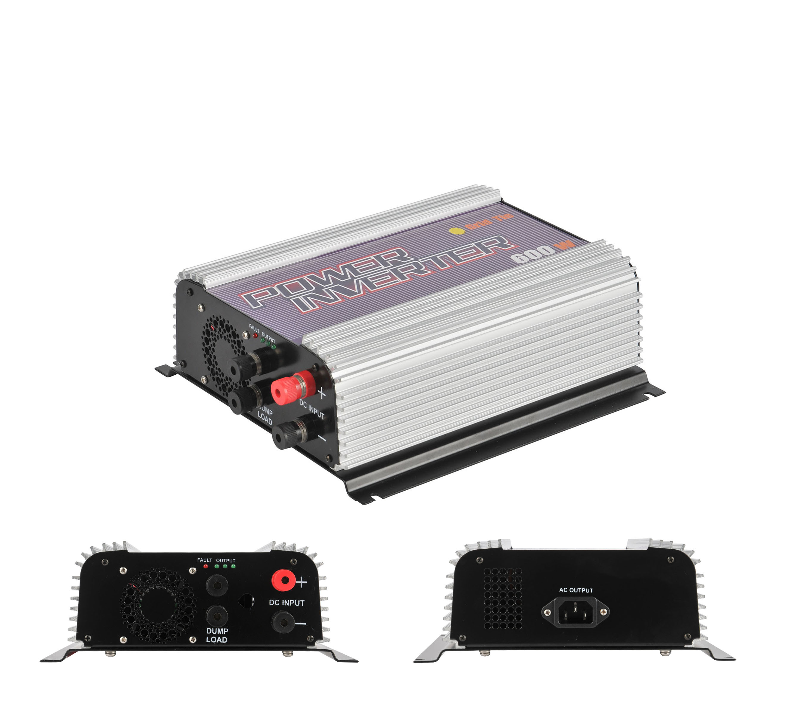 SUN-600G-WDL Wind power grid tie inverter/power inverter 600w