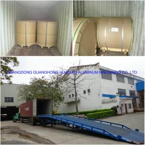 Aluminum sheet coil packing