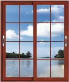 Exterior Slide Type Aluminum Frame House Window Grill Design