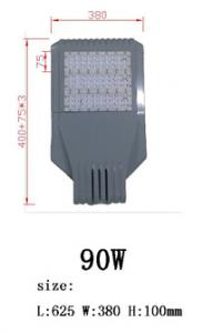 2014 hot sell in Europe best good quality bridgelux chip meanwell driver 30w-300W LED street light