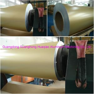 Champagne gold color PVDF coated aluminum coils