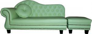 Kid's Sofa with Stool & Cushion