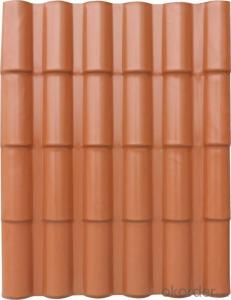 Geloy ASA Synthetic Resin Roma Roofing Tile