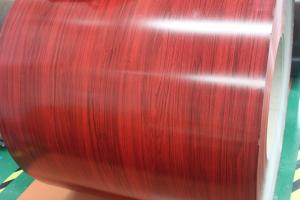 Pre-painted Galvanized Steel Coil-EN10169-WOODEN9