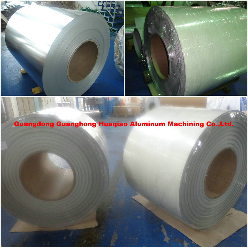 Embossed aluminium coated coil