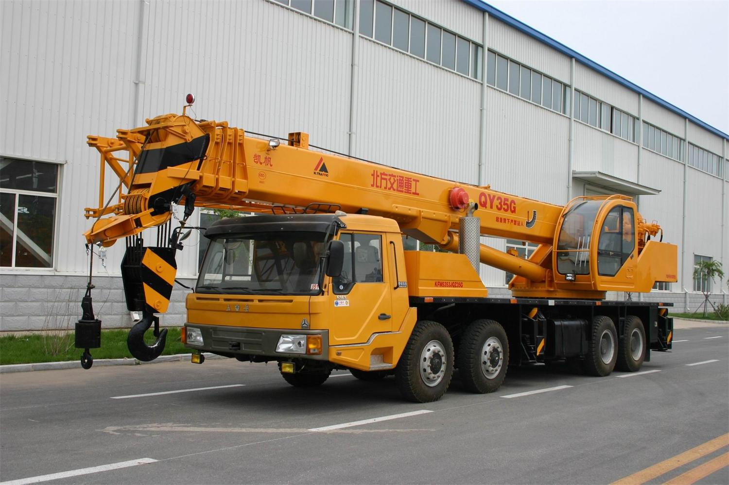 Truck Crane for Construction-35ton