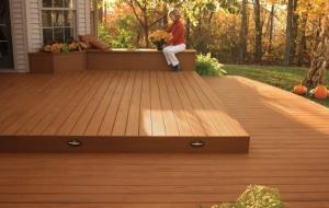 Low cost ourdoor decking