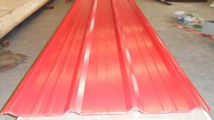 Corrugated Prepaint Galvanized Steel Sheet