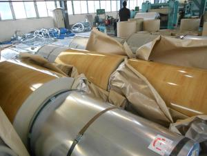 Pre-painted Galvanized Steel Coil-EN10169-WOODEN8