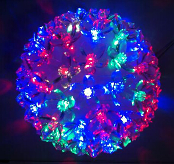 100Ct LED Flashing Ball Light