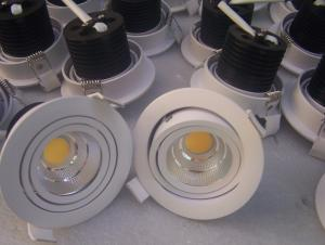 Dimmable COB LED ceiling light,LED downlight packing in color box
