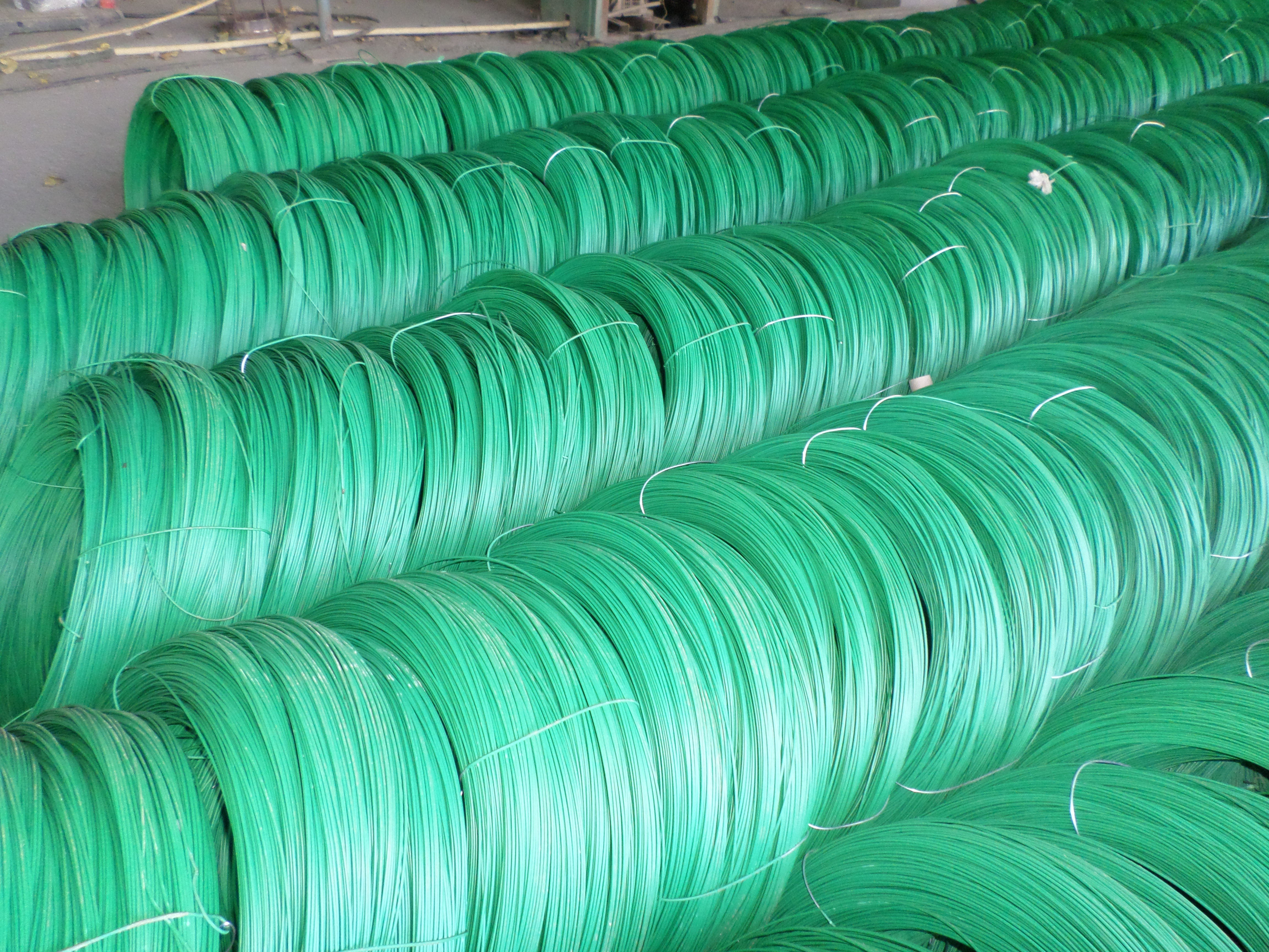 Buy Pvc Coated Iron Wire With Good Quality Price Size