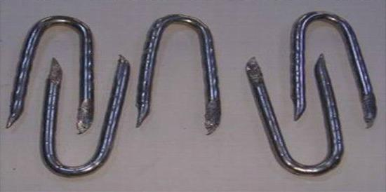 Galvanized U Staple Nails Manufactory with Good Quality