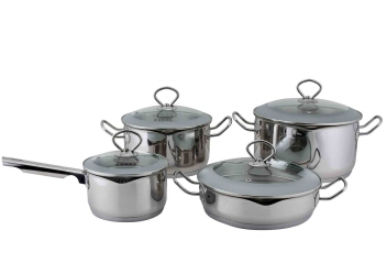 Stainless Steel cookware set 13