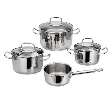 Stainless Steel cookware set 7
