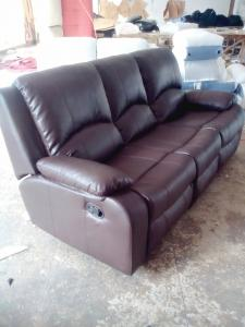 Manual recliner sofa set 8387