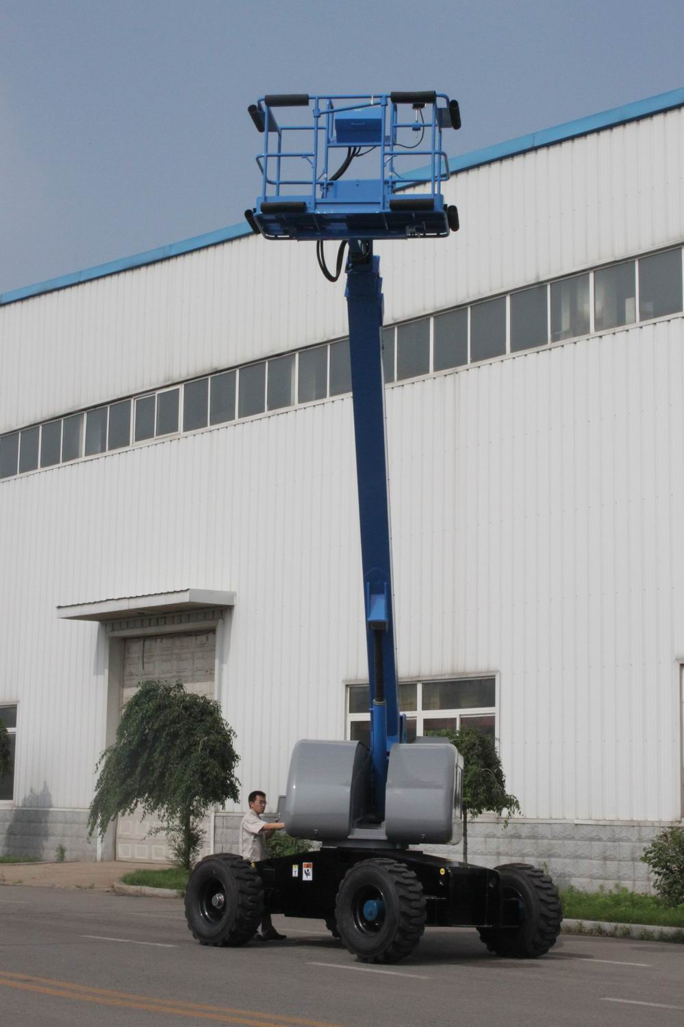 Aerial working platform for high place working-20m