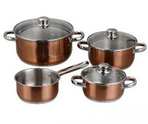 Stainless Steel cookware set 10