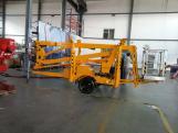 15M Trailer mounted platforms