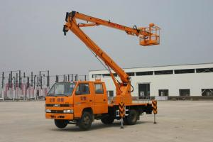14m Articulated boom aerial working platform