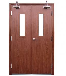 Wooden Fireproof Security Door Manufactory