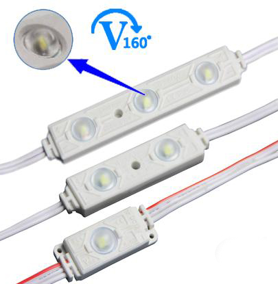 good price seven color rgb led module with lens