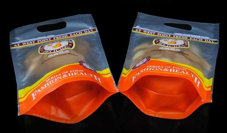 Flexible Printed Standup Pouch With Bottom Gusset For Packing