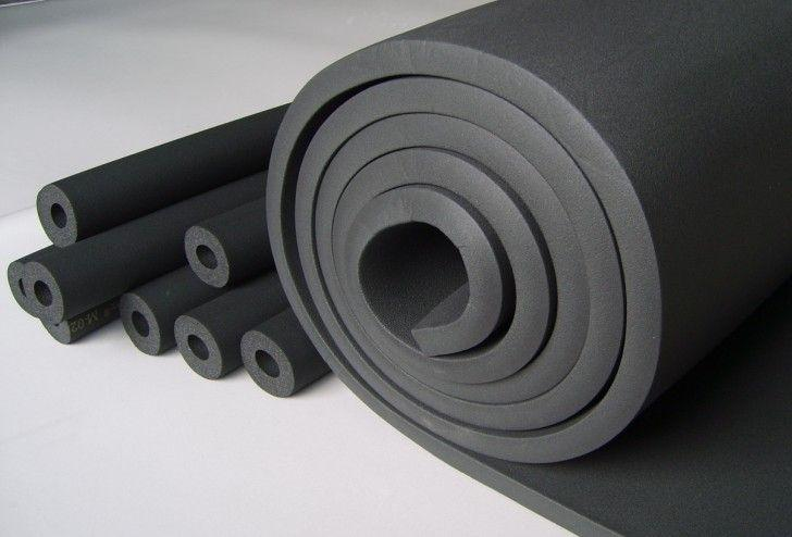 Low Thermal Conductivity Rubber Foam Insulation Tube