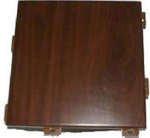 Wooden grain coating aluminum sheet