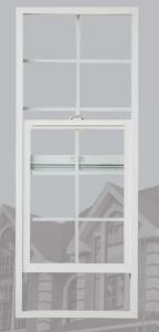 PVC Hung Window with hollow glass,Low E glass Manufacturer