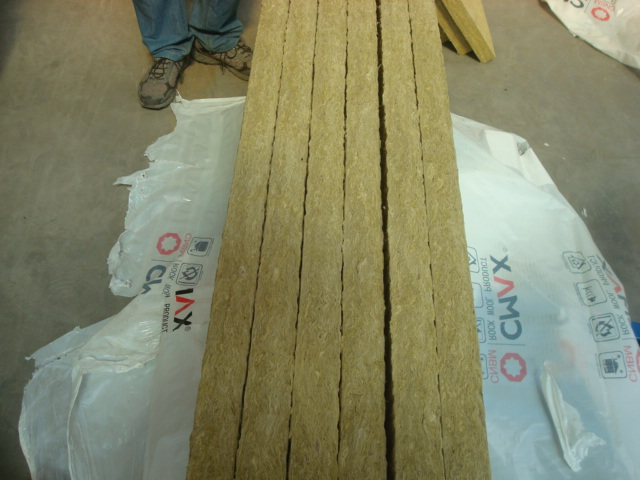 Rockwool Board Unfaced Rockwool Board Aluminium Foil Faced