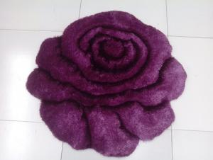 Purple Color High Pile Low Pile Tufted Carpet