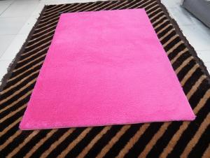 Super Rose Blue Shaggy Carpet