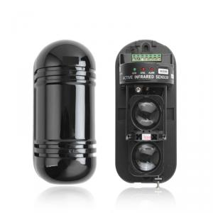 Two beams Active Infrared Detector with 3 LED Economy ABT Series