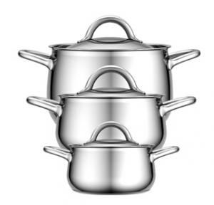 Stainless Steel Cookware 8PCS set