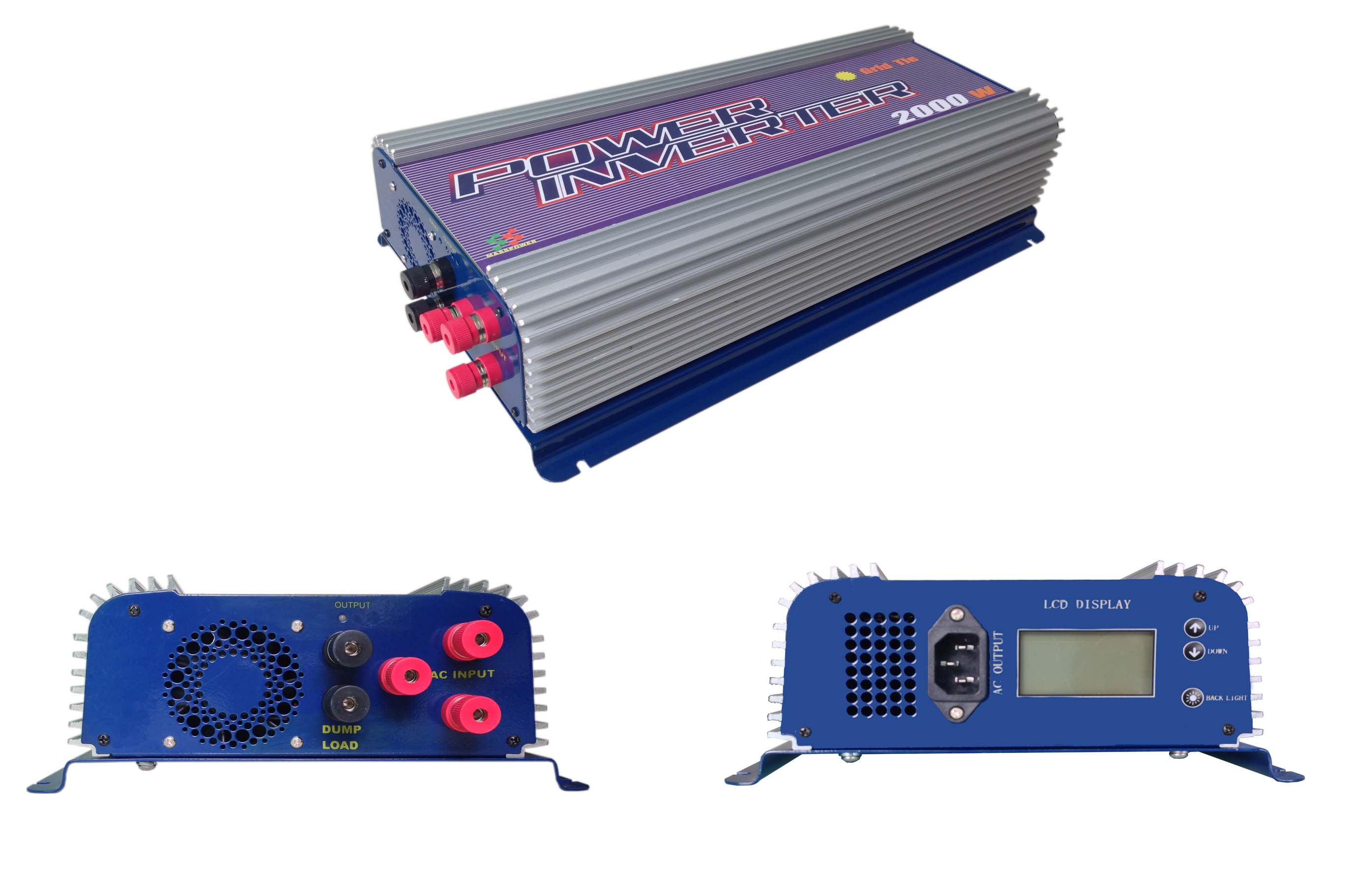 SUN-2000G-WAL Wind power grid tie inverter 2000w